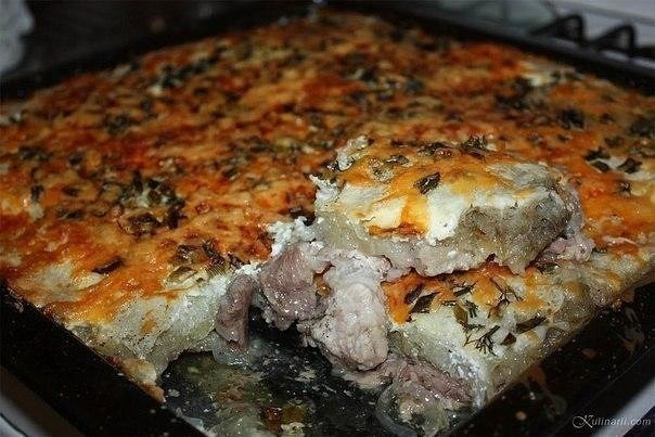 Свинина в духовке под майонезом рецепт пошагово