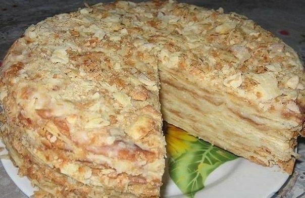 Наполеон торт старинный рецепт с фото